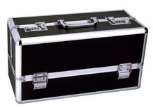 LOCKABLE VIBRATOR CASE BLACK LARGE | BMS09811 | [category_name]