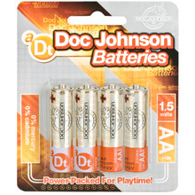 DOC JOHNSON BATTERIES AA 4 PACK CD | DJ039905 | [category_name]