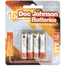 DOC JOHNSON BATTERIES AAA 4 PACK CD | DJ039907 | [category_name]