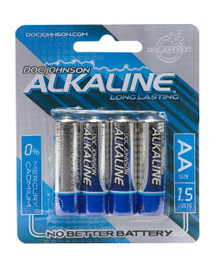 DOC JOHNSON AA BATTERIES 4 PACK AKALINE CD | DJ039908 | [category_name]