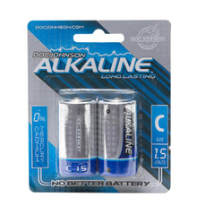 DOC JOHNSON C BATTERIES 2 PACK AKALINE CD | DJ039909 | [category_name]