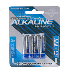 DOC JOHNSON AAA BATTERIES 4 PACK AKALINE CD | DJ039910 | [category_name]