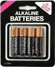 DURACELL AA BATTERIES 4 PACK CARDED | NO724 | [category_name]