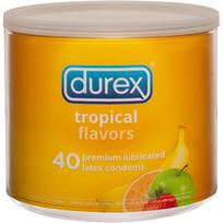 DUREX TROPICAL 40PC BOWL
