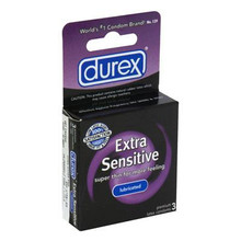 DUREX EXTRA SENSITIVE LUBRICATED 3PK | R129 | [category_name]