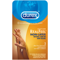 DUREX AVANTI BARE REAL FEEL NON LATEX 3PK | R89455 | [category_name]