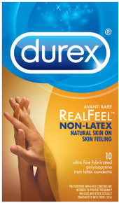 DUREX AVANTI REEL FEEL NON LATEX 10 PACK | R89456 | [category_name]