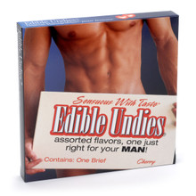 EDIBLE UNDIES MALE-CHERRY | KI0002 | [category_name]