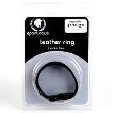 NICKEL FREE LEATHER COCK RING | SPL07C1 | [category_name]