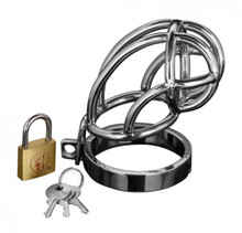 MASTER SERIES CAPTUS STAINLESS STEEL CHASTITY CAGE | XRAD150 | [category_name]