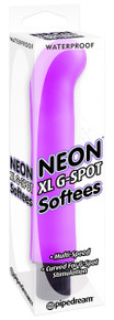 NEON LUV TOUCH XL G SPOT SOFTEES PURPLE
