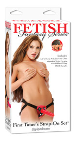 FETISH FANTASY FIRST TIMERS STRAP ON SET RED | PD219715 | [category_name]