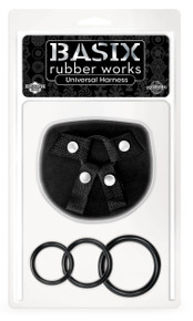 BASIX RUBBER WORKS UNIVERSAL HARNESS ONE SIZE | PD432001 | [category_name]