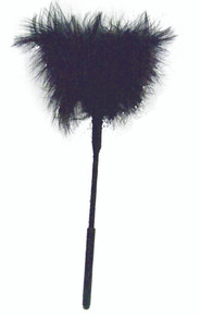 SEX & MISCHIEF FEATHER TICKLER 7IN BLACK   SS10070   [category_name]