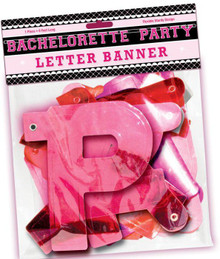 BACHELORETTE PARTY LETTER BANNER | HO2178 | [category_name]
