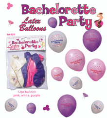 BACHELORETTE PARTY BALLOONS 12PC | HO2516BP | [category_name]