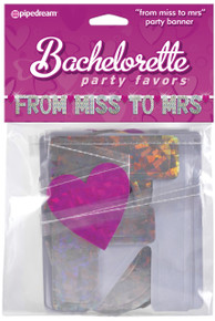 BACHELORETTE BANNER FROM MISS TO MRS | PD601211 | [category_name]