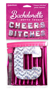 BACHELORETTE INCHEERS BITCHESIN PARTY BANNER | PD601411 | [category_name]