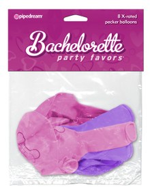 BACHELORETTE X - RATED PECKER BALLOONS