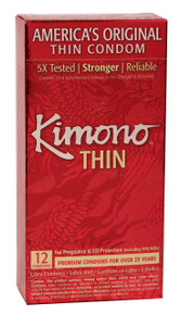 KIMONO LUBRICATED CONDOM 12 PK | KM01012 | [category_name]