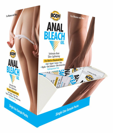 BODY ACTION ANAL BLEACH 50PC DISPLAY   BA081   [category_name]