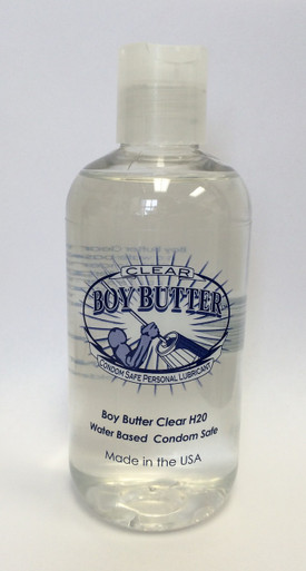BOY BUTTER CLEAR 8OZ | BBC8 | [category_name]