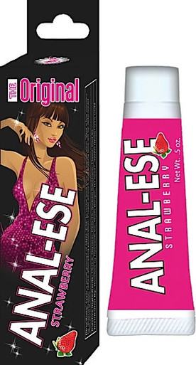 ANAL ESE STRAWBERRY .5 OZ SOFT PACKAGING | NW03163 | [category_name]
