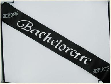 BACHELORETTE BLACK SASH | GASBACHBS | [category_name]