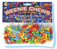 WEENIE CHEWS PENIS CANDY 125PCS   HO2120   [category_name]