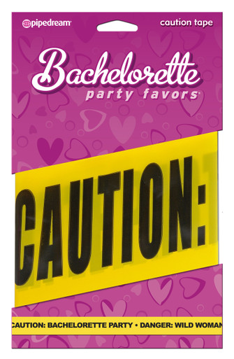 BACHELORETTE CAUTION TAPE 20 | PD601800 | [category_name]
