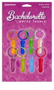 BACHELORETTE DICKY WINE CHARMS