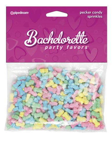 BACHELORETTE PECKER CAKE SPRINKLES   PD744300   [category_name]
