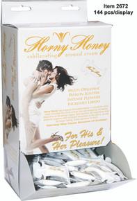 HORNY HONEY AROUSAL GEL 144PC DISPLAY | HO2672 | [category_name]