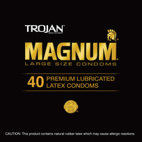 TROJAN MAGNUM 40PC CONTAINER | T00132 | [category_name]