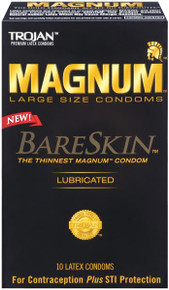 TROJAN MAGNUM BARESKIN 10 PACK | T22887 | [category_name]
