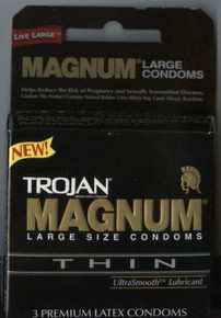 TROJAN MAGNUM THIN 3 PACK | T64603 | [category_name]