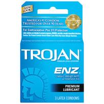 TROJAN ENZ (LUBED) 3PK | T93050 | [category_name]