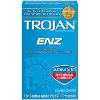 TROJAN ENZ SPERMICIDAL 12 PACK | T93252 | [category_name]