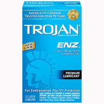 TROJAN ENZ LUBRICATED 12 PK | T93752 | [category_name]