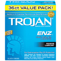 TROJAN ENZ LUBRICATED 36PK | T93951 | [category_name]