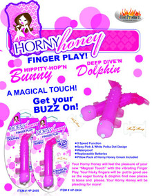 HORNY HONEY FINGER PLAY DOLPHIN MAGENTA