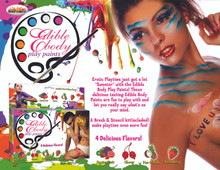 EDIBLE BODY PAINTS 4 PACK BOX | HO2717 | [category_name]