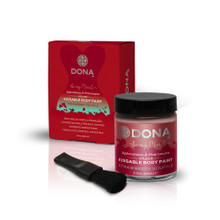 DONA BODY PAINT STRAWBERRY SOUFFLE 2.OZ