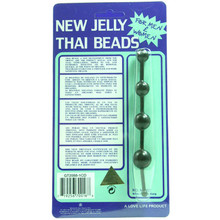 JELLY THAI BEADS BLACK | GT20881 | [category_name]