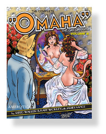 OMAHA THE CAT DANCER #08 (COM) | MBO117 | [category_name]