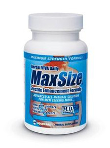 MAX SIZE 60PC BOTTLE CLAMSHELL