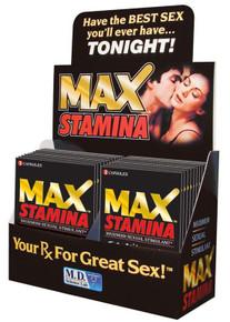 MAX STAMINA 24PC DISPLAY