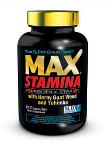 MAX STAMINA 30PC BOTTLE CLAMSHELL | MDMST30 | [category_name]