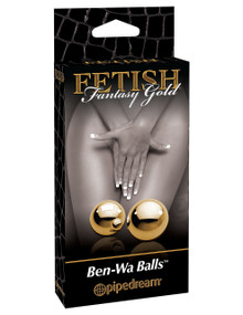 FETISH FANTASY GOLD BEN WA BALLS | PD399027 | [category_name]