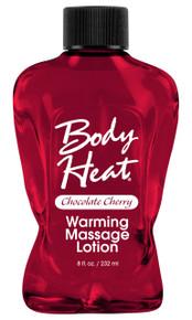 BODY HEAT WARMING MASSAGE LOTION CHOC/CHERRY